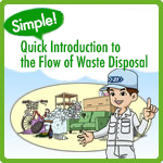 Easy! Rapid! Flow of refuse disposal